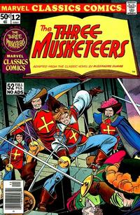 Cover Thumbnail for Marvel Classics Comics (Marvel, 1976 series) #12 - The Three Musketeers
