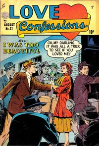 Cover Thumbnail for Love Confessions (Quality Comics, 1949 series) #31