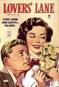 Cover Thumbnail for Lovers' Lane (Lev Gleason, 1949 series) #12