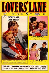 Cover Thumbnail for Lovers' Lane (Lev Gleason, 1949 series) #32