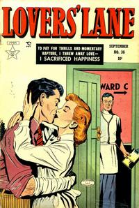 Cover Thumbnail for Lovers' Lane (Lev Gleason, 1949 series) #36