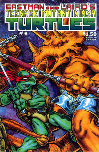 Cover Thumbnail for Teenage Mutant Ninja Turtles (Mirage, 1984 series) #6