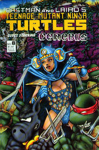 Cover Thumbnail for Teenage Mutant Ninja Turtles (Mirage, 1984 series) #8