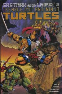 Cover Thumbnail for Teenage Mutant Ninja Turtles (Mirage, 1984 series) #47