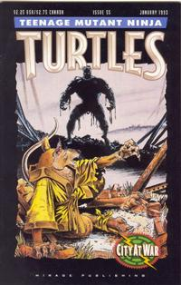 Cover for Teenage Mutant Ninja Turtles (1984 series) #55