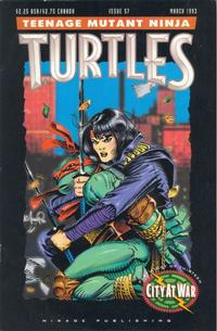 Cover for Teenage Mutant Ninja Turtles (Mirage, 1984 series) #57