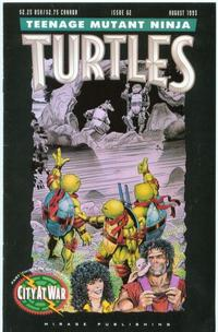 Cover Thumbnail for Teenage Mutant Ninja Turtles (Mirage, 1984 series) #62