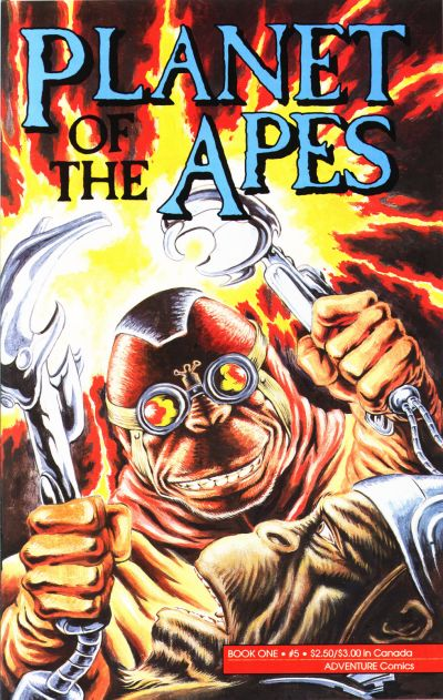 Cover for Planet of the Apes (Malibu, 1990 series) #5