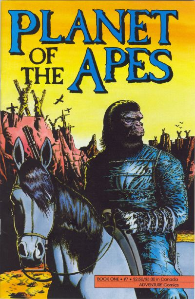 Cover for Planet of the Apes (1990 series) #7