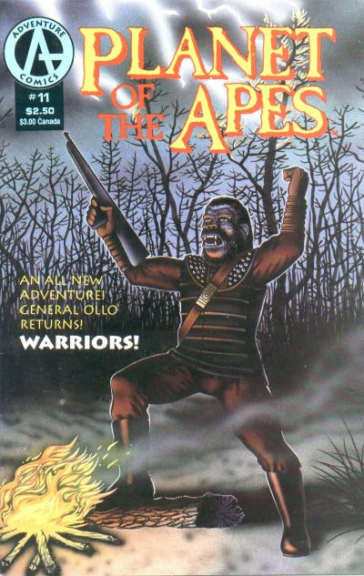 Cover for Planet of the Apes (Malibu, 1990 series) #11