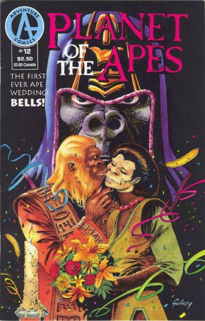 Cover for Planet of the Apes (1990 series) #12