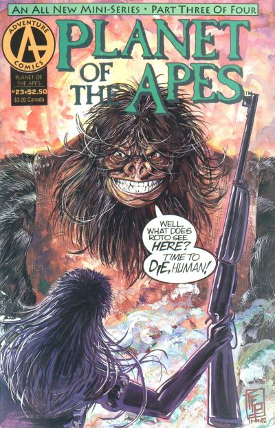 Cover for Planet of the Apes (Malibu, 1990 series) #23