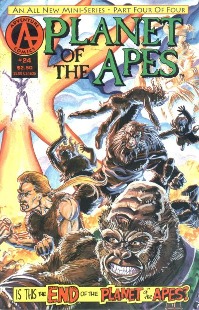Cover for Planet of the Apes (1990 series) #24
