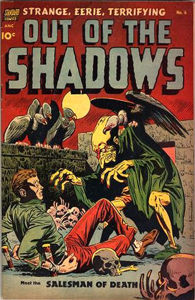 Cover for Out of the Shadows (1952 series) #6