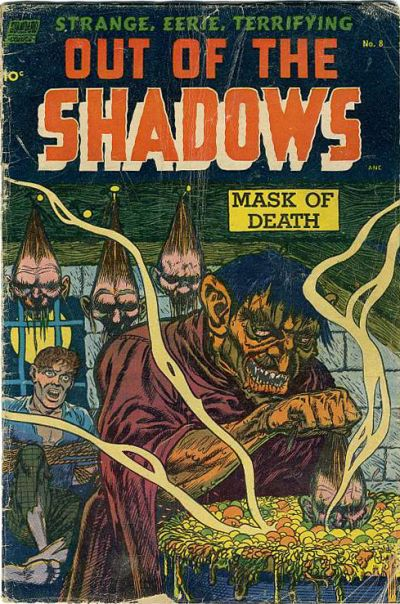Cover for Out of the Shadows (Standard, 1952 series) #8