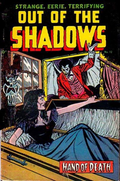 Cover for Out of the Shadows (Standard, 1952 series) #12