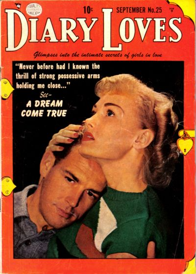 Cover for Diary Loves (1949 series) #25