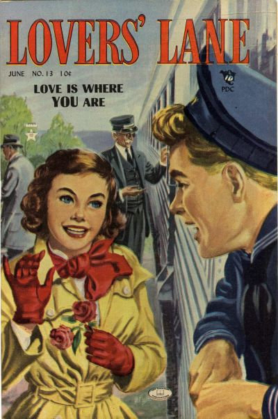 Cover for Lovers' Lane (Lev Gleason, 1949 series) #13
