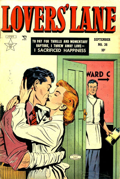 Cover for Lovers' Lane (1949 series) #36