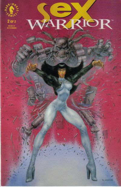 Cover for Sex Warrior (Dark Horse, 1993 series) #2