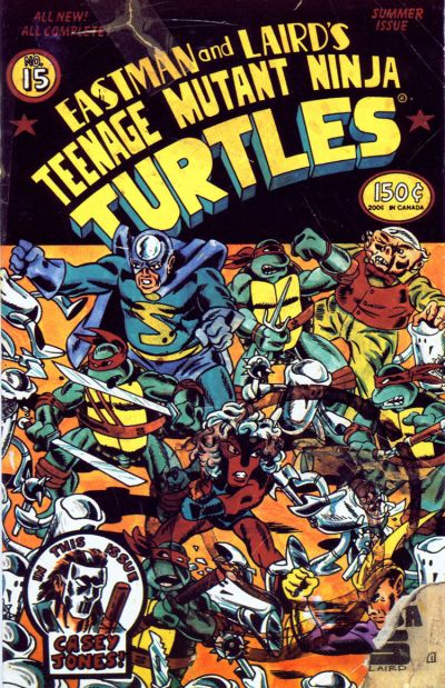 Cover for Teenage Mutant Ninja Turtles (Mirage, 1984 series) #15