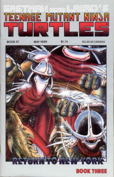 Cover for Teenage Mutant Ninja Turtles (1984 series) #21