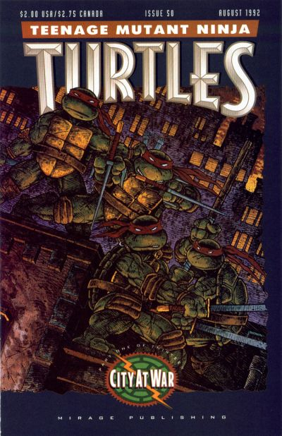 Cover for Teenage Mutant Ninja Turtles (1984 series) #50