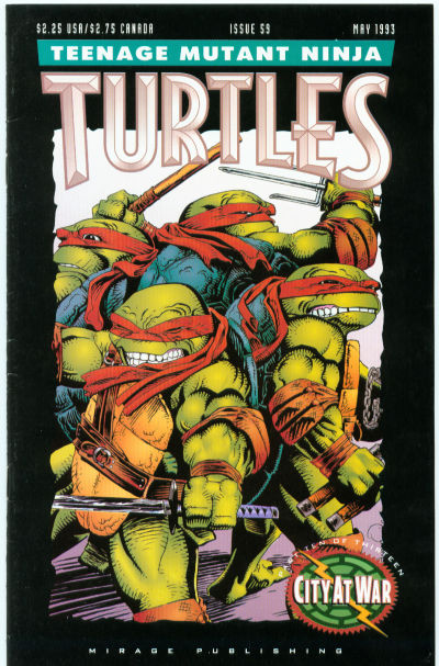 Cover for Teenage Mutant Ninja Turtles (Mirage, 1984 series) #59