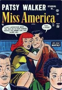 Cover Thumbnail for Miss America (Marvel, 1953 series) #51