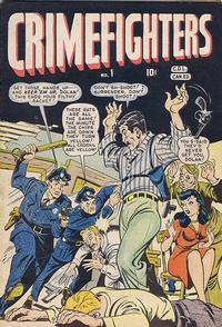 Cover Thumbnail for Crimefighters Comics (Bell Features, 1948 series) #1