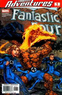 Cover Thumbnail for Marvel Adventures Fantastic Four (Marvel, 2005 series) #1
