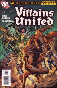 Cover Thumbnail for Villains United (DC, 2005 series) #4