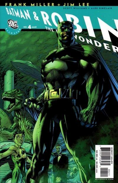 Cover for All Star Batman & Robin, the Boy Wonder (DC, 2005 series) #4 [Variant Cover (1 in 10)]