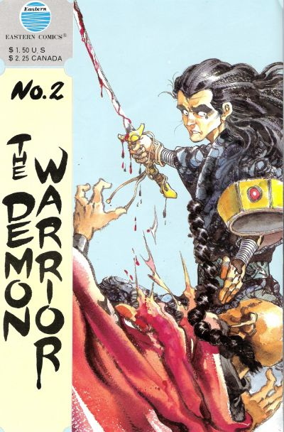 Cover for The Demon Warrior (Eastern Comics, 1987 series) #2
