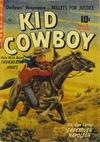 Cover for Kid Cowboy (Ziff-Davis, 1950 series) #8