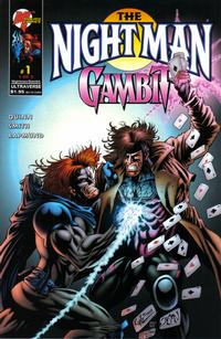 Cover Thumbnail for The Night Man / Gambit (Marvel, 1996 series) #1 [Hotz Cover]