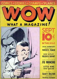 Cover Thumbnail for Wow — What a Magazine! (Henle Publications, 1936 series) #3