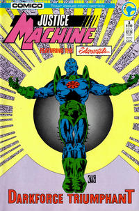 Cover Thumbnail for Justice Machine Featuring The Elementals (Comico, 1986 series) #3