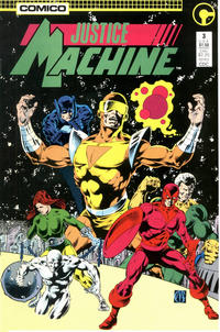 Cover Thumbnail for Justice Machine (Comico, 1987 series) #3
