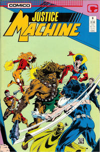 Cover Thumbnail for Justice Machine (Comico, 1987 series) #6