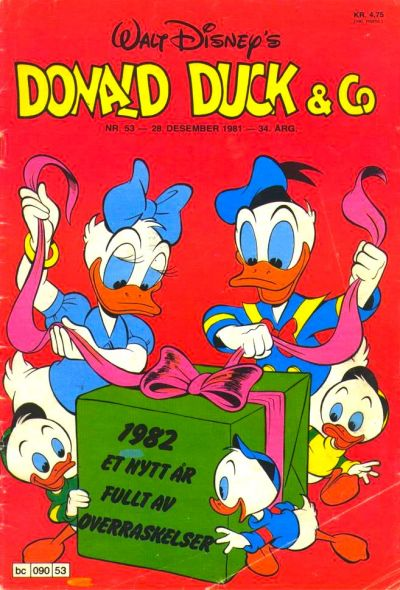 Cover for Donald Duck & Co (Hjemmet, 1948 series) #53/1981