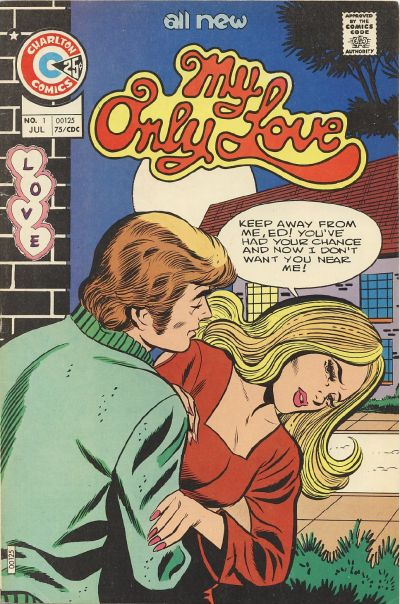 Cover for My Only Love (Charlton, 1975 series) #1