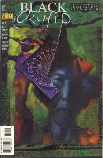 Cover for Black Orchid (DC, 1993 series) #14