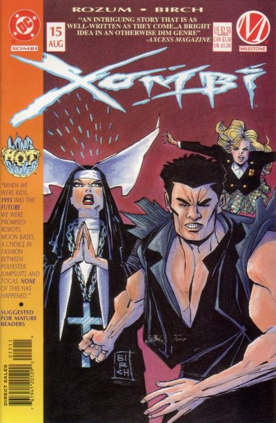 Cover for Xombi (DC, 1994 series) #15
