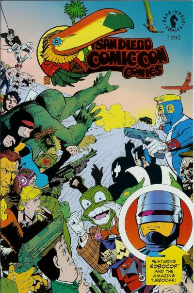 Cover for San Diego Comic Con Comics (Dark Horse, 1992 series) #1