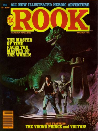 Cover for The Rook Magazine (Warren, 1979 series) #5