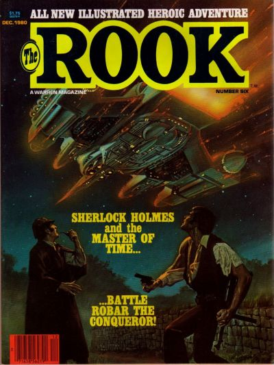 Cover for The Rook Magazine (1979 series) #6