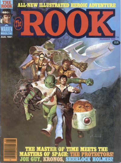 Cover for The Rook Magazine (Warren, 1979 series) #10