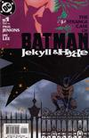 Cover for Batman: Jekyll & Hyde (DC, 2005 series) #1
