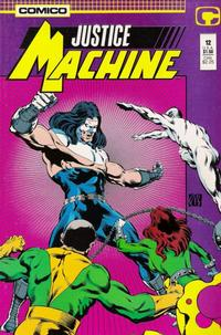 Cover Thumbnail for Justice Machine (Comico, 1987 series) #12